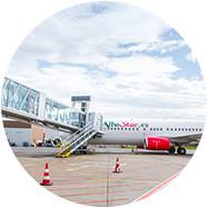 Plate-forme aéroportuaire de qualité