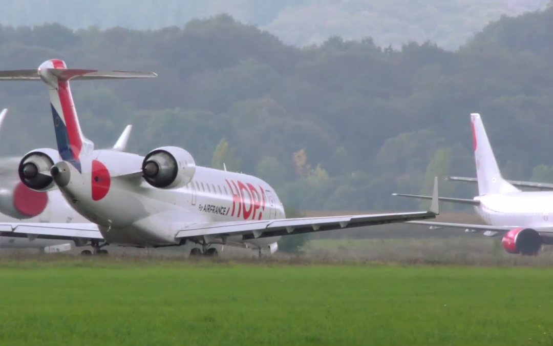 OPERATION OF THE TARBES-LOURDES / PARIS-ORLY ROUTE