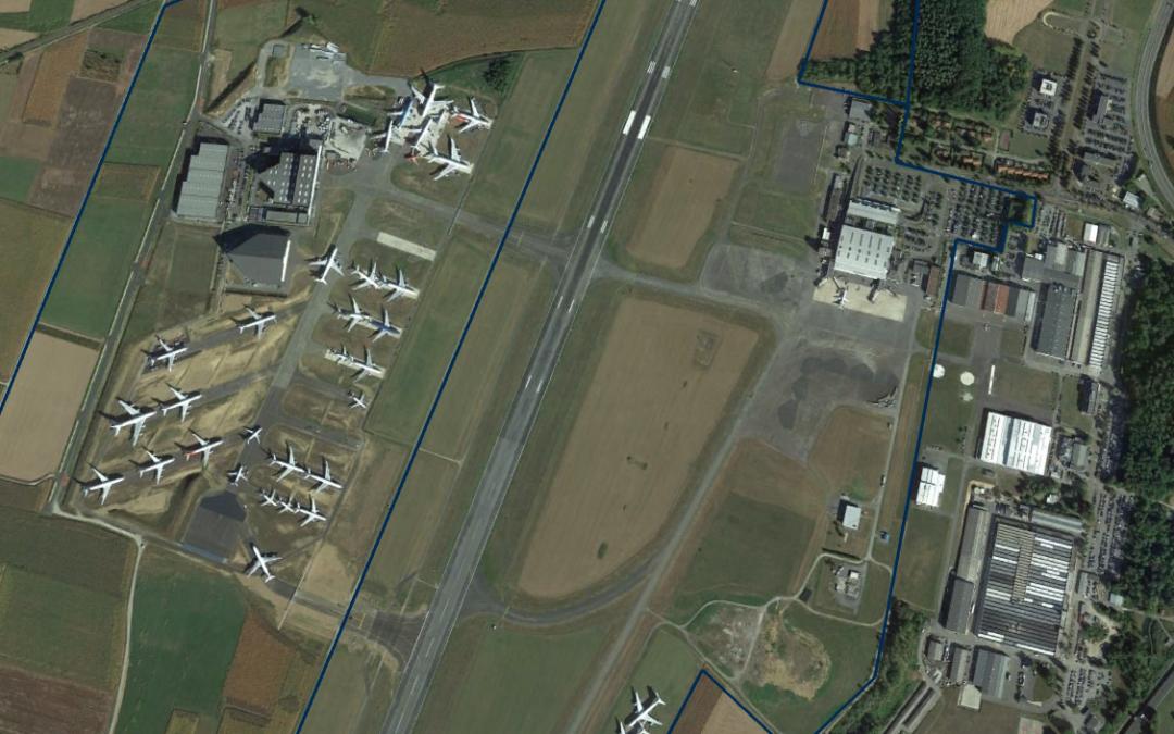 tarmac-aérosave aircraft park extension project completion